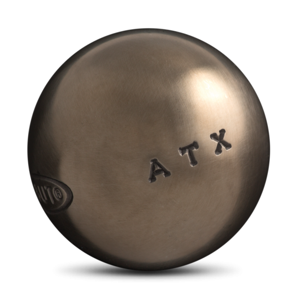boule de pétanque de compétition Obut ATX à acheter chez Pétanque Bruguières