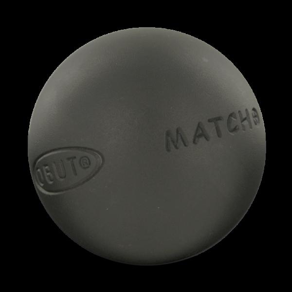 boule de pétanque de compétition Obut Match+ à acheter chez Pétanque Bruguières