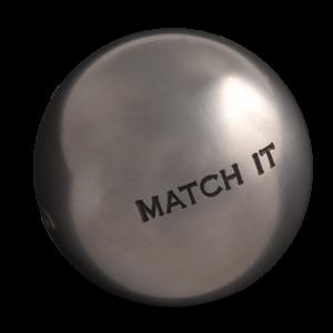 boule de pétanque de compétition Obut Match it à acheter chez Pétanque Bruguières