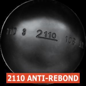 boule de pétanque de compétition MS 2110 anti-rebond à acheter chez Pétanque Bruguières