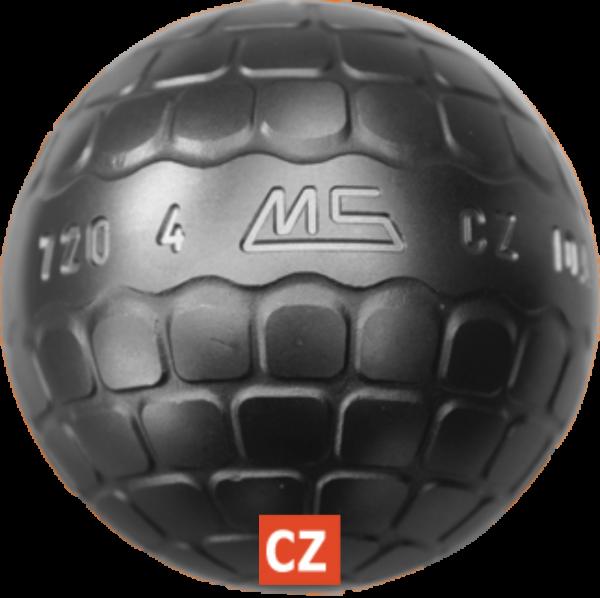 boule de pétanque de compétition MS CZ INOX à acheter chez Pétanque Bruguières