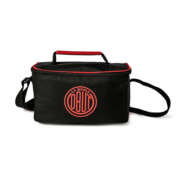 sac reporter rouge 3 boules marque obut